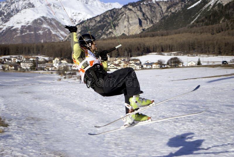 snowkite fotografia royalty free