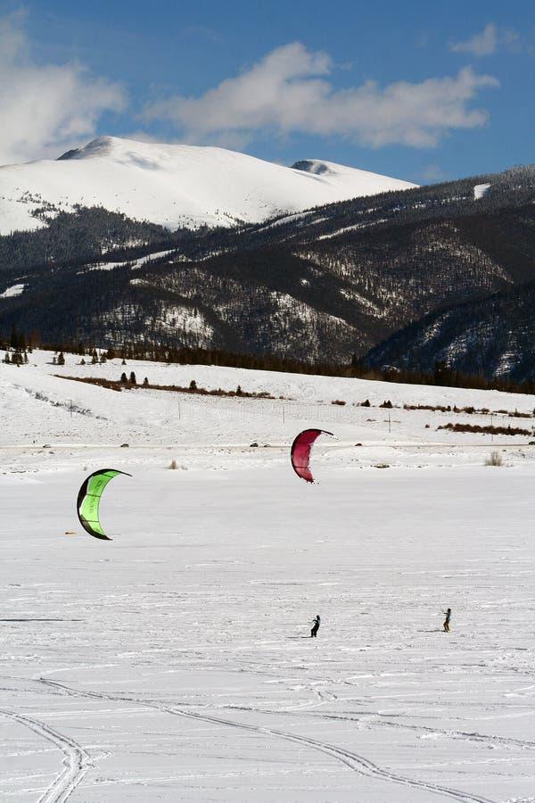 snowkite dillon открытое стоковые фотографии rf