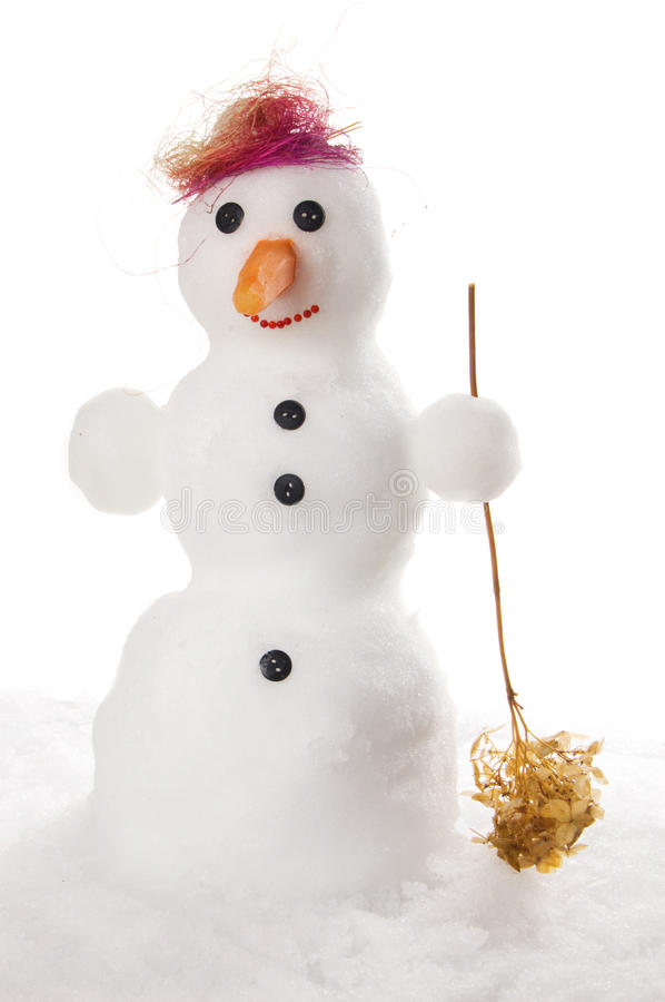 Download Snowman stock image. Image of cold, snow, button, smile - 11782383