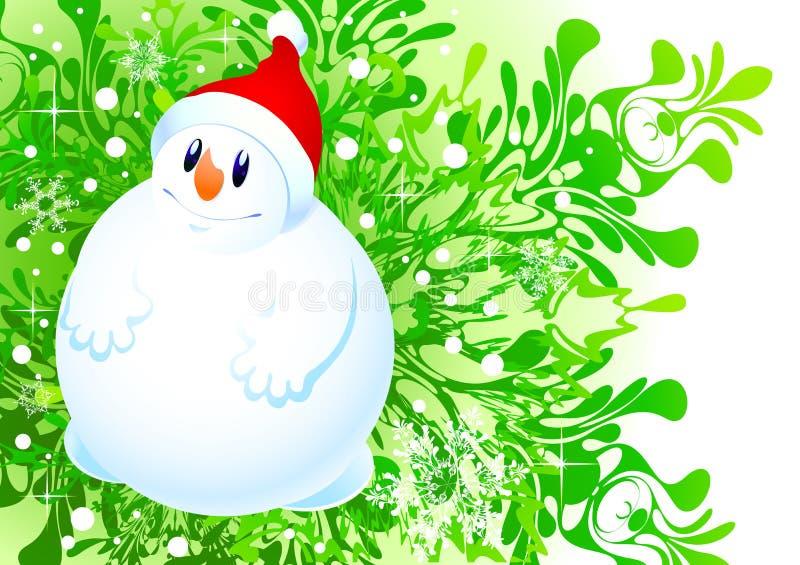 Download Snowman stock illustration. Image of christmas, design - 11879690