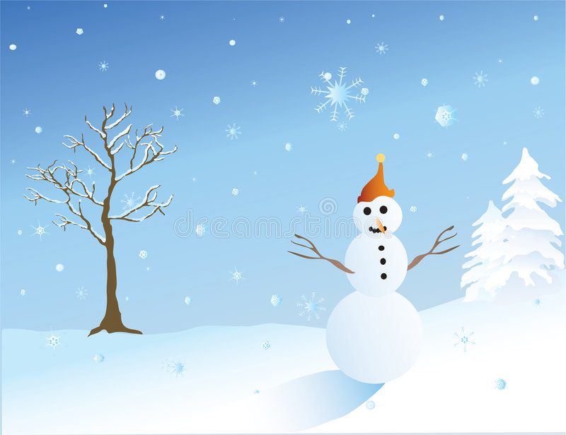 Download Snowman Stock Photo - Image: 1408440
