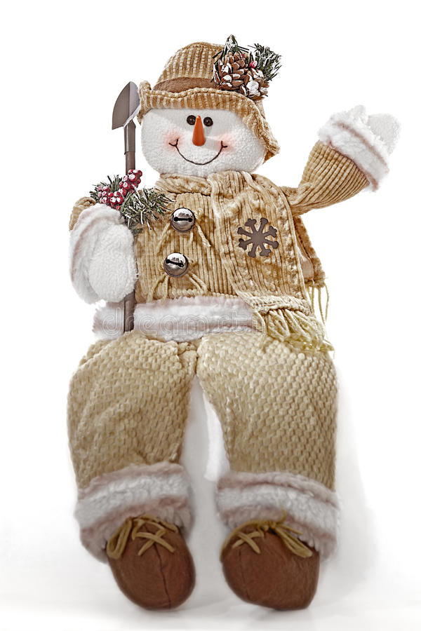 Download Snowman stock image. Image of happiness, white, christmas - 17544521