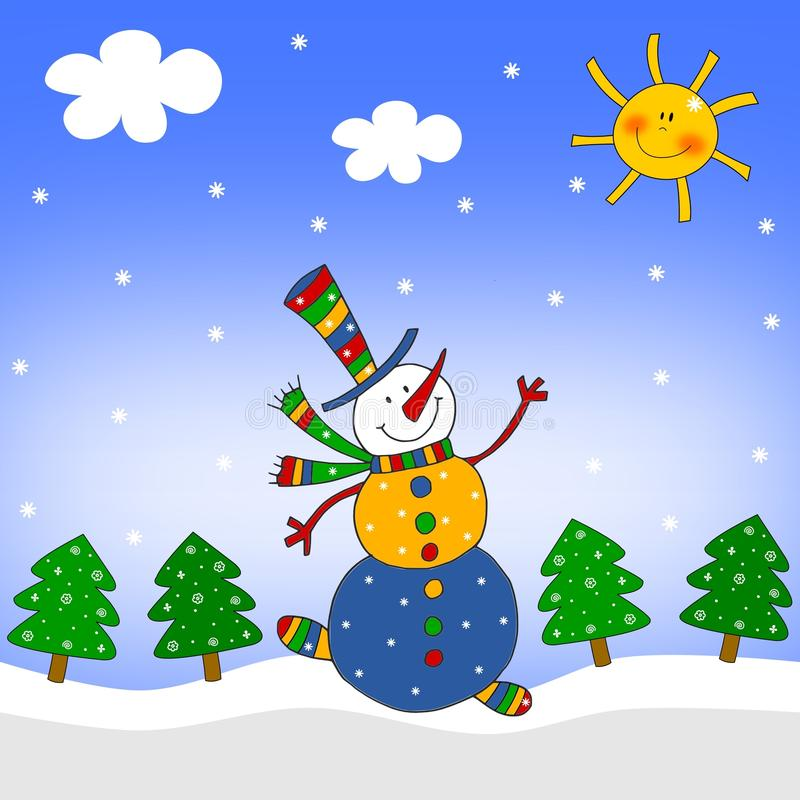 Download Snowman Royalty Free Stock Photo - Image: 19686225