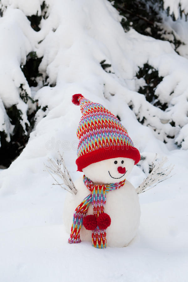 Download Snowman stock photo. Image of decoration, snow, snowy - 21563138