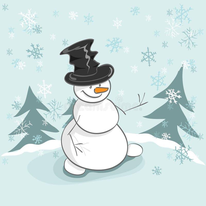 Download Snowman stock vector. Illustration of white, santa, snowman - 21858501