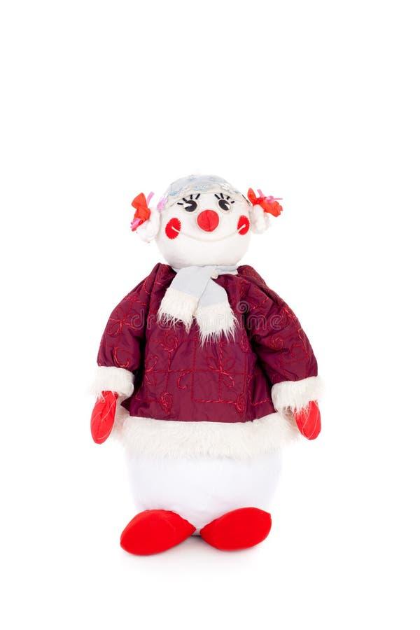 Download Snowman stock illustration. Illustration of happy, frozen - 26653222
