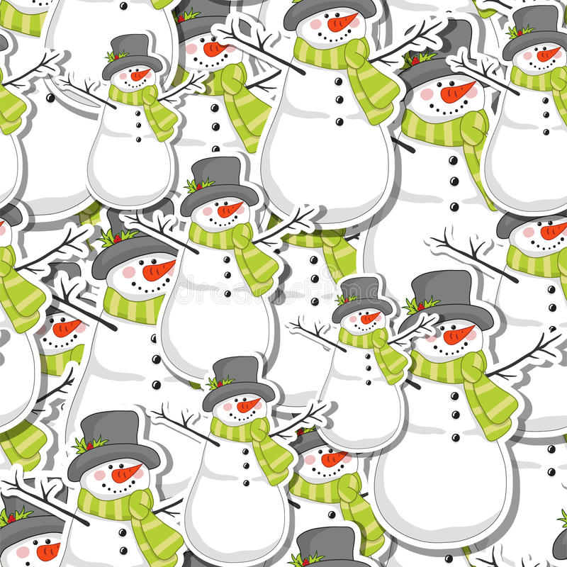 Download Snowman Royalty Free Stock Photo - Image: 27141235