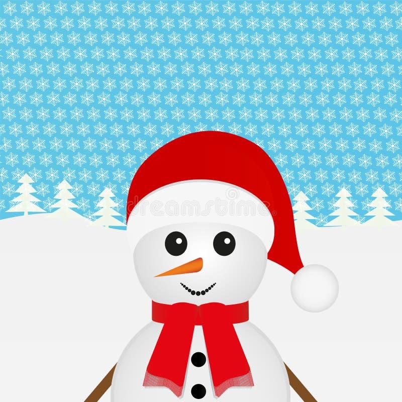 Download Snowman vektor illustrationer. Illustration av santa - 27288277
