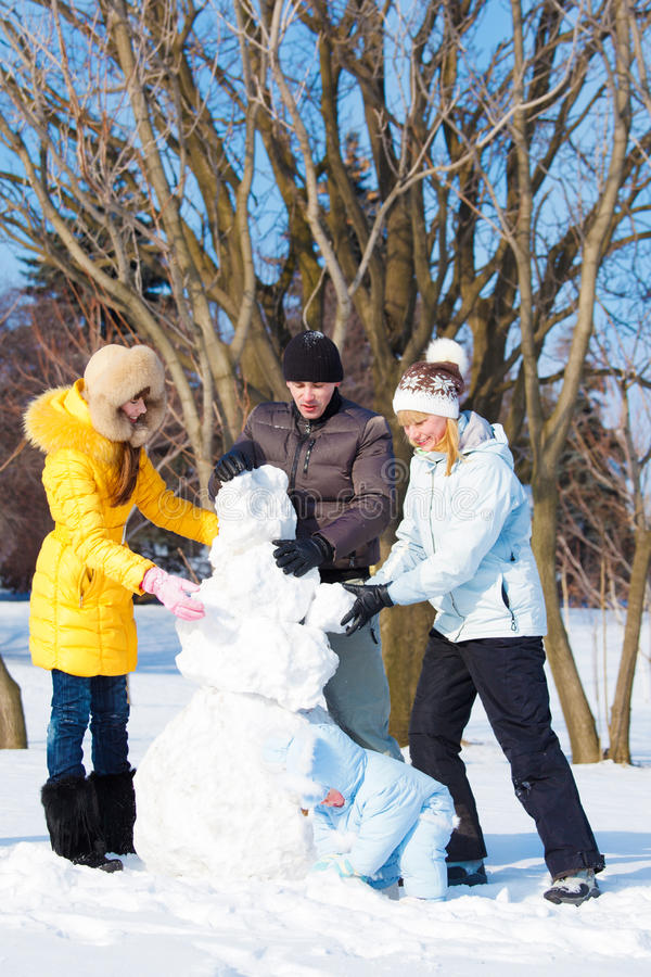 Download Snowman Stock Photo - Image: 27508640