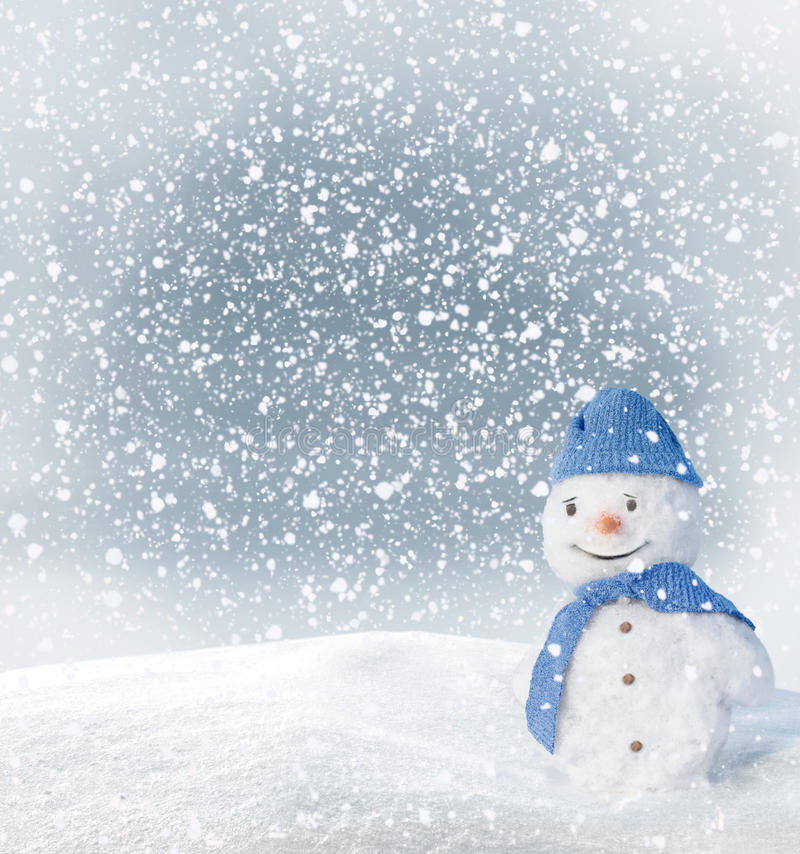 Download Snowman stock photo. Image of shadow, nobody, landscape - 27905964