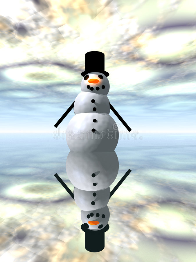 Free Snowman 3 Stock Images - 635144