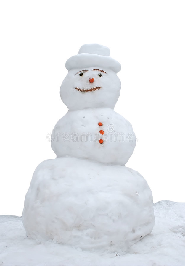 Free Snowman Royalty Free Stock Photo - 3728205