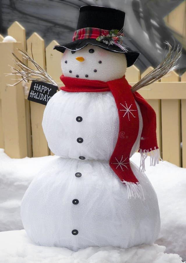 snowman arkivbilder