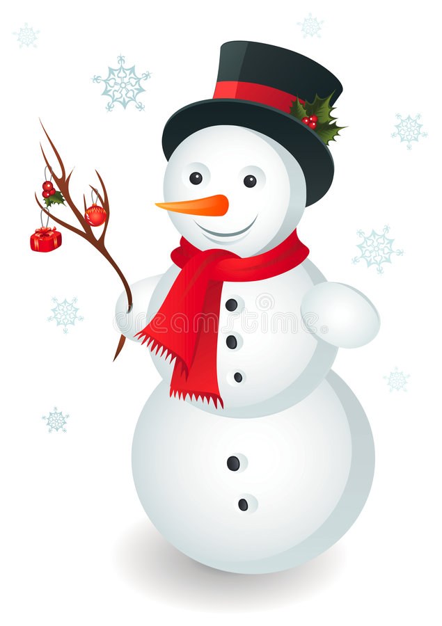 snowman stock illustrationer