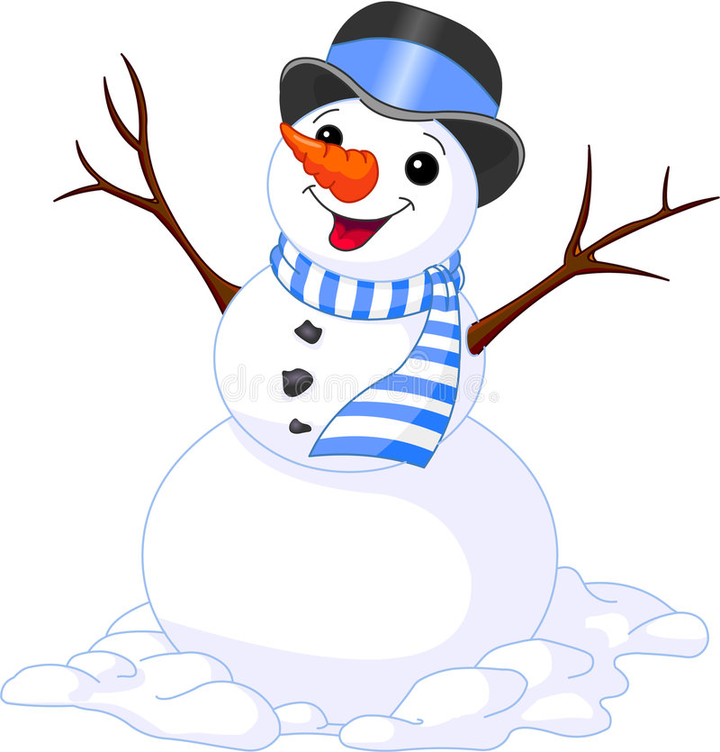 Free Snowman Royalty Free Stock Images - 6986859