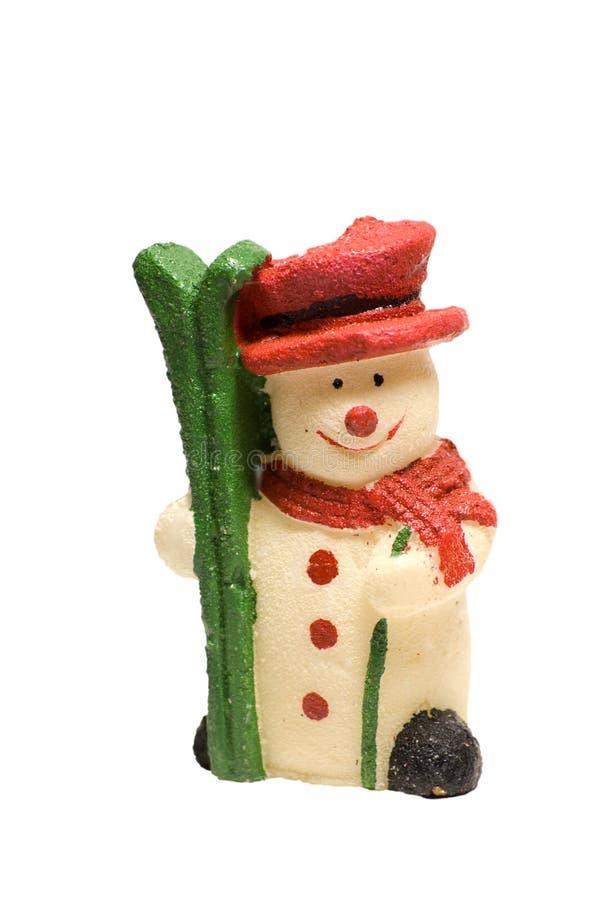 Download Snowman stock image. Image of winter, gift, snowman, season - 7208603