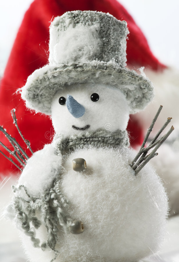 Download Snowman stock image. Image of silver, snowman, season - 7312883