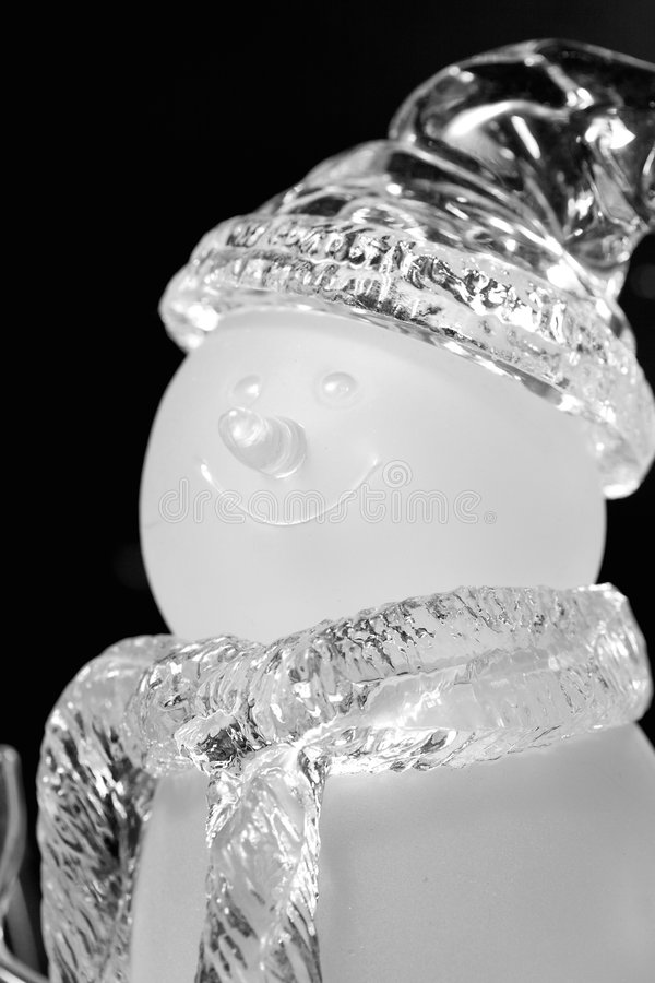 Download Snowman stock photo. Image of snowman, smiling, scarf - 7343232