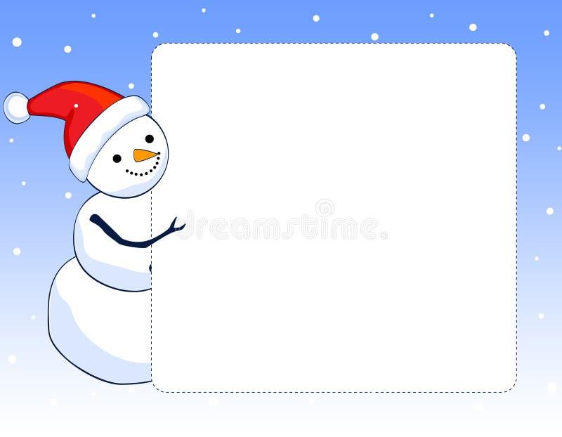 Snowman Border Clipart