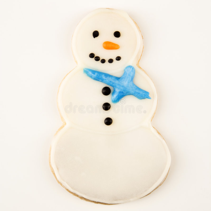Download Snowman Cookie. Royalty Free Stock Photography - Image: 3533527
