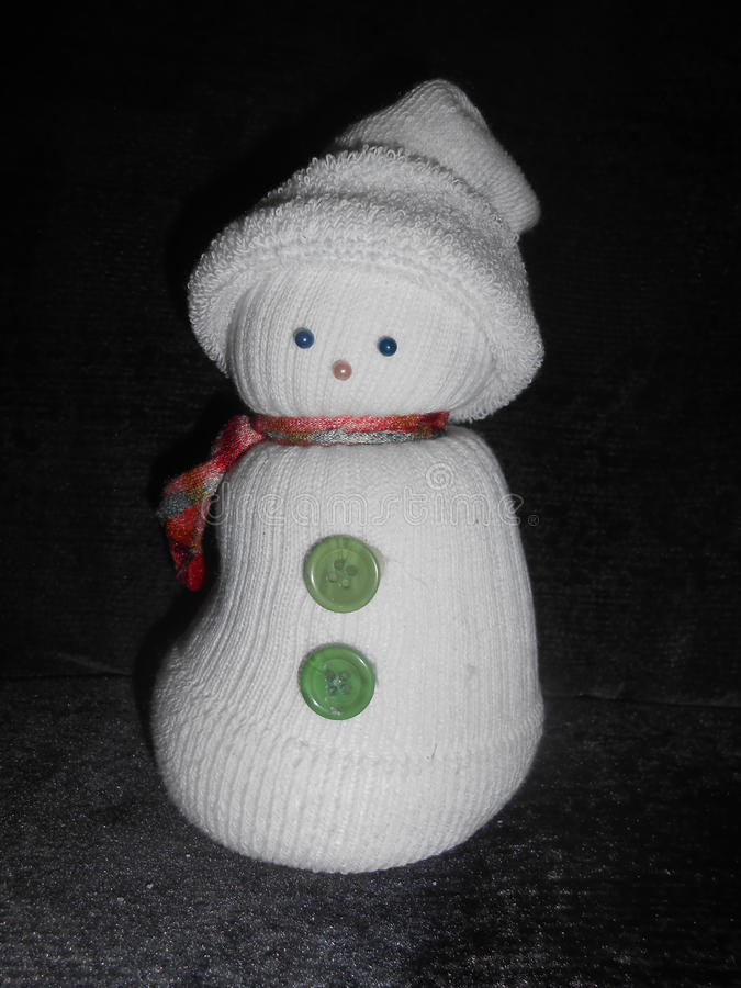 Snowman Doll stock image