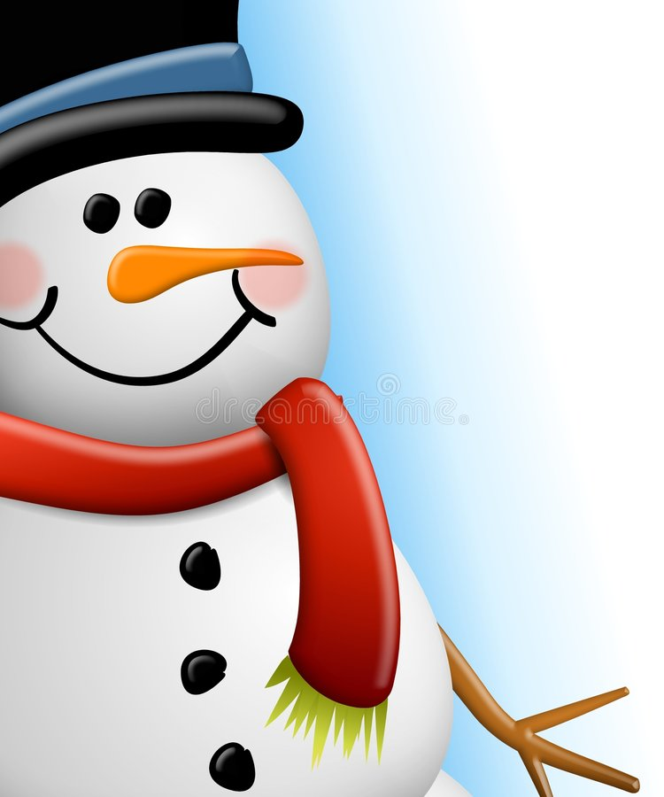 Free Snowman Face Close Up Royalty Free Stock Photography - 7049647