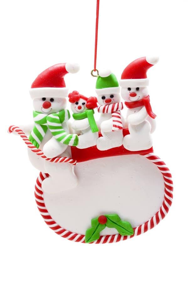 Free Snowman Family Stock Photo - 1242010