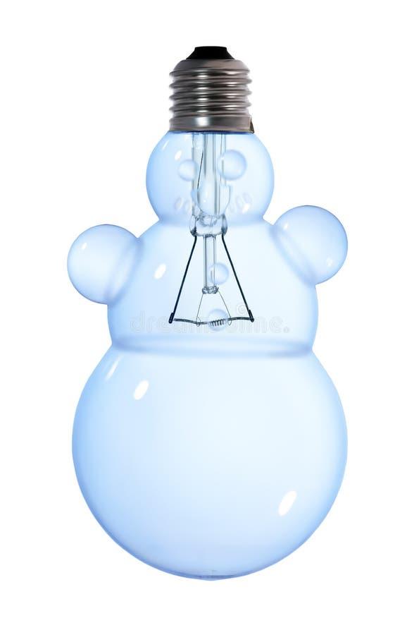 Free Snowman Light Bulb Stock Photography - 16939572
