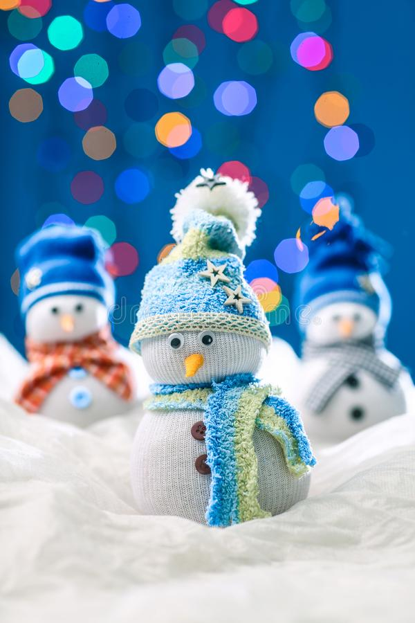 Snowman for merry xmas royalty free stock image