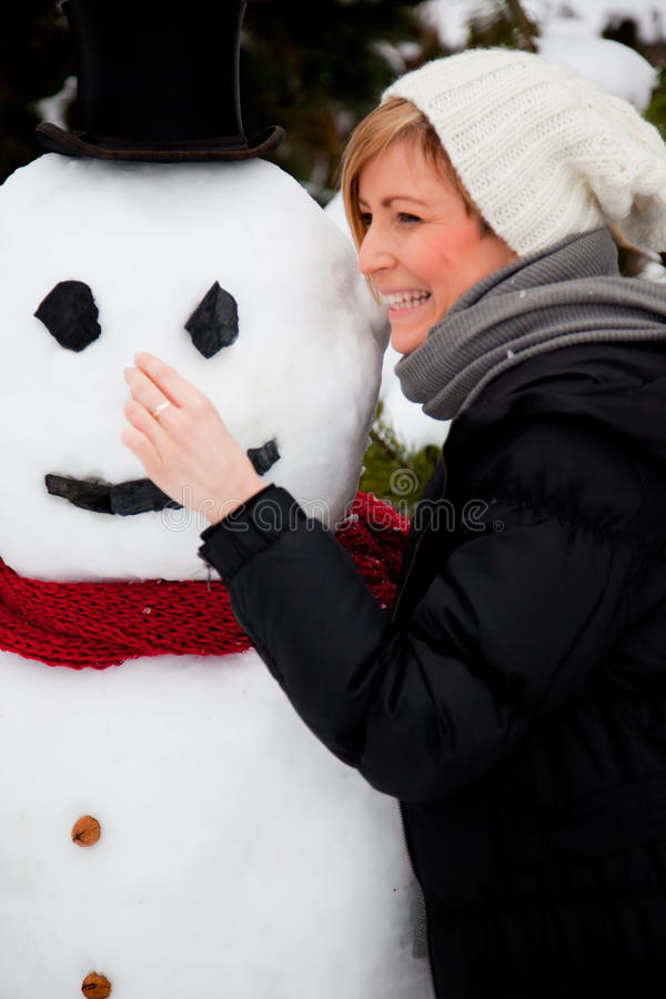 Free Snowman Vacation Stock Photos - 12836023