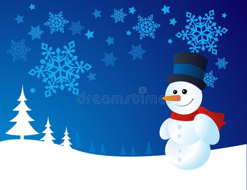Download Snowman, Vector Illustration Stock Photos - Image: 7334043