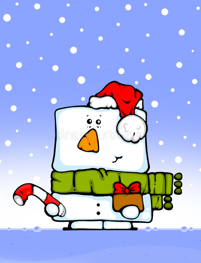 Free Snowman With Gifts Royalty Free Stock Image - 7263056