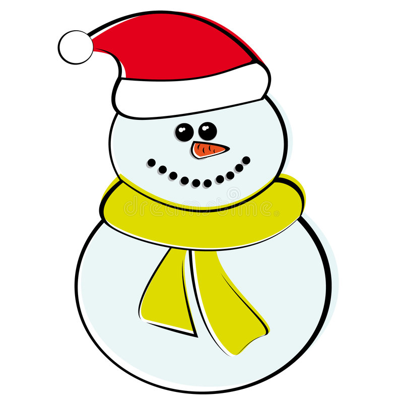 snowman2 illustration de vecteur