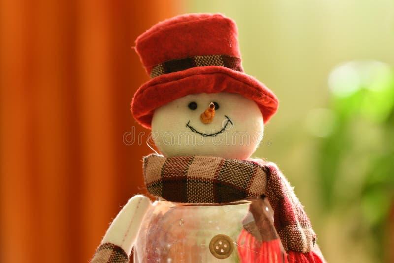 Snowmann Вифлеем темы Christmass стоковое изображение rf