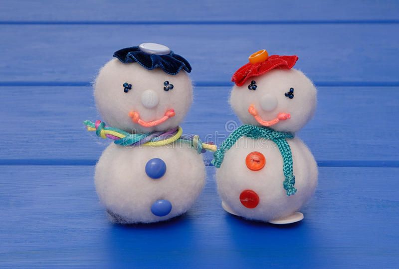 Snowmans royalty free stock photography