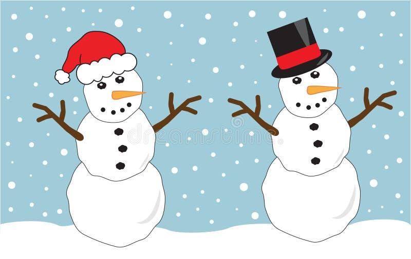 Snowmen Royalty Free Stock Photo