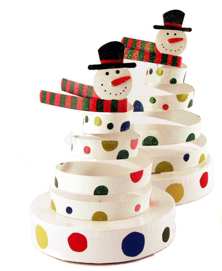 Download Snowmen stock image. Image of decoration, dots, isolated - 1776539