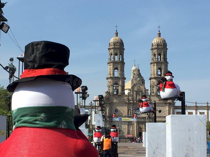 Snowmen Vs Church Free Public Domain Cc0 Image