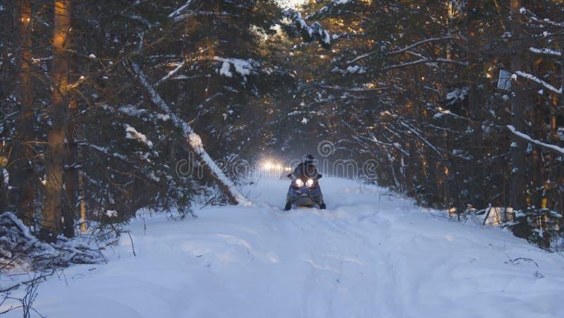 Download Snowmobile obraz stock. Obraz złożonej z pogoda, akcja - 28954135