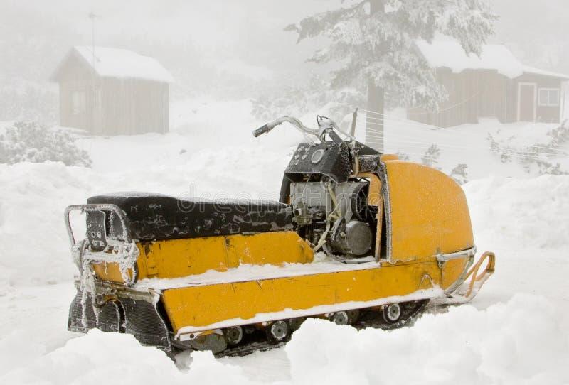 snowmobile royaltyfri bild