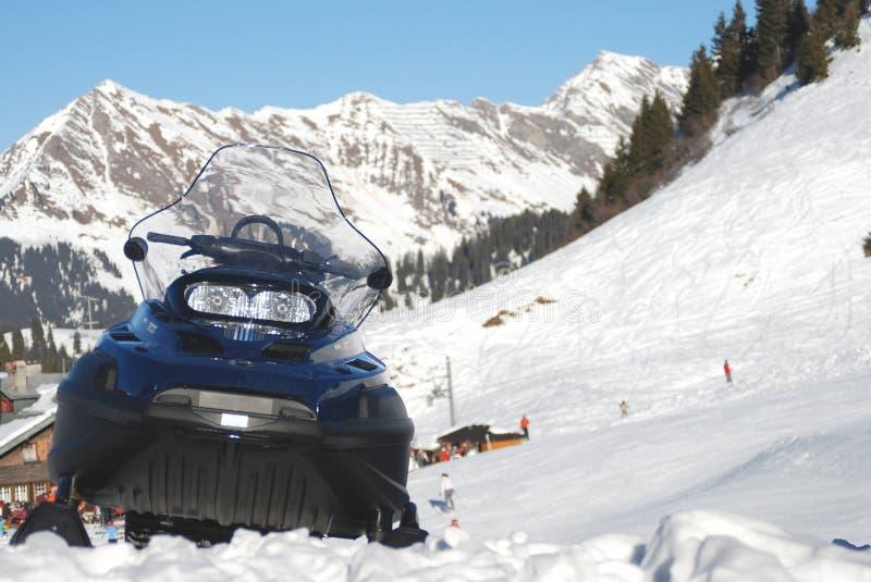 Snowmobile Free Stock Image