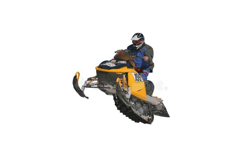 snowmobile royaltyfri fotografi