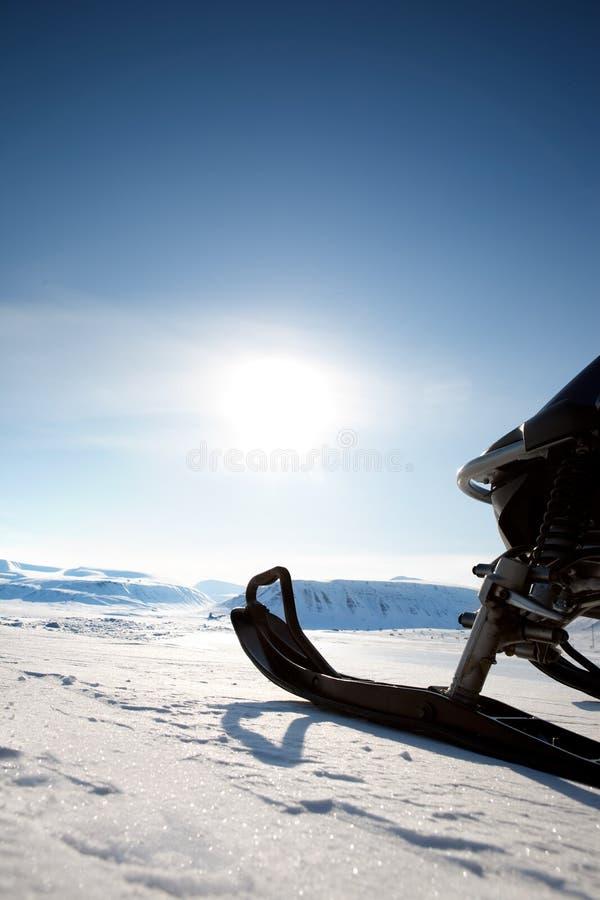 snowmobile zdjęcia royalty free