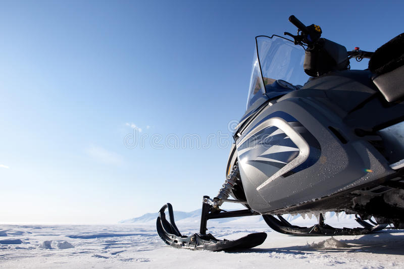 snowmobile obraz royalty free