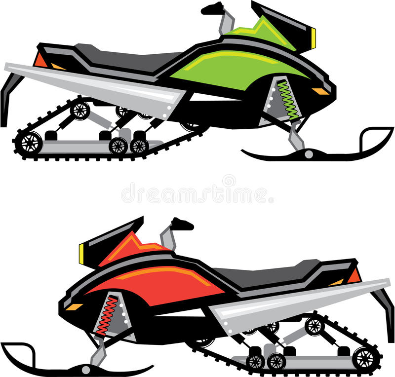 snowmobile vector file stock vector illustration of handlebars rh dreamstime com cliparts snowmobile snowmobile clipart svg