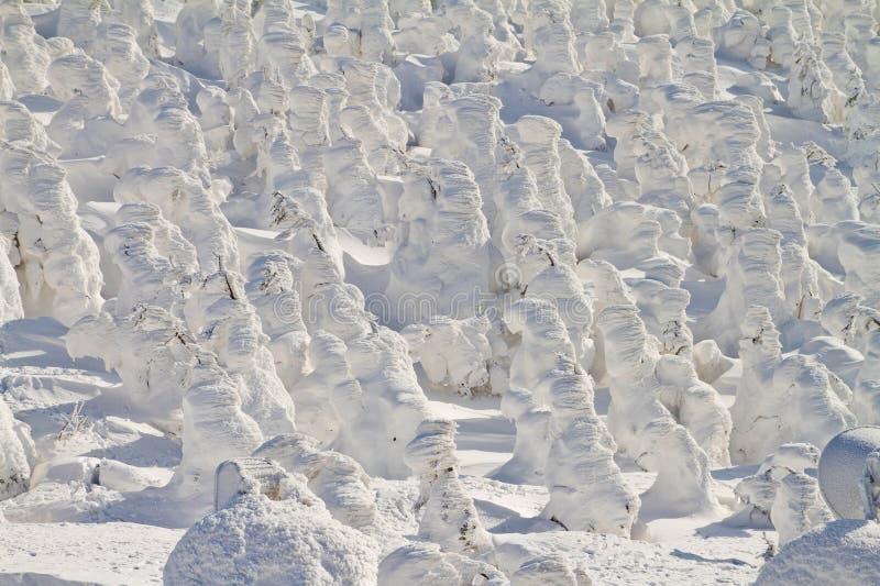 Snowmonster arkivfoton