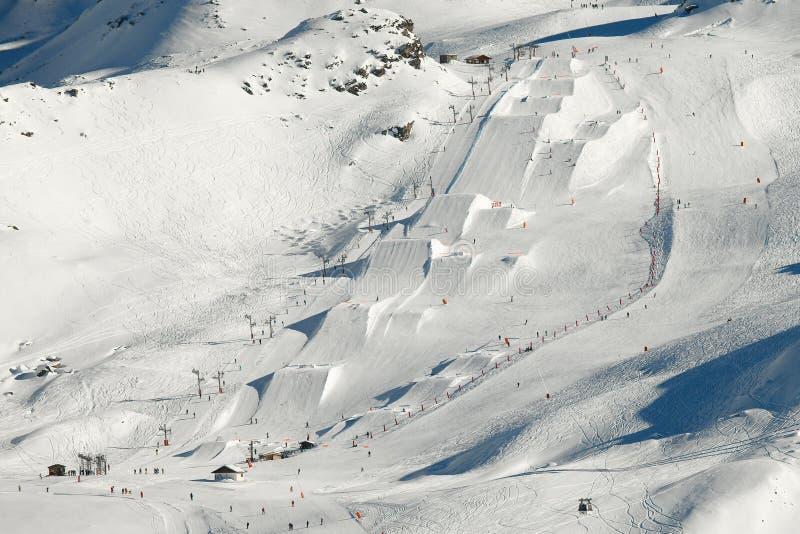 snowpark стоковые изображения rf