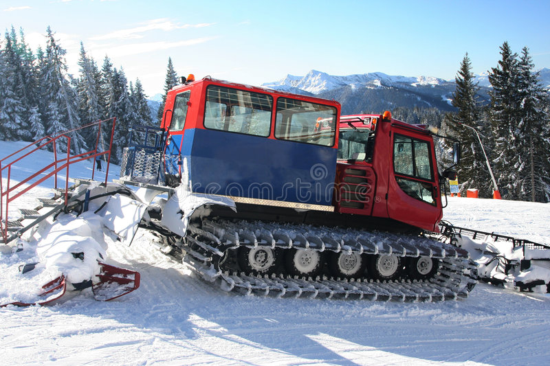 Download Snowplow stock image. Image of nature, landscape, clear - 2010959