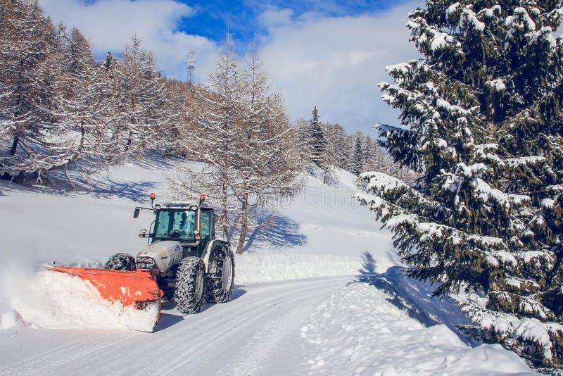 snowplow fotos de archivo libres de regalías