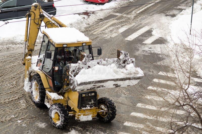 Download Snowplow Car Editorial Image - Image: 37146275